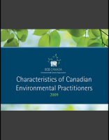 Characteristics of Canadian Environmental Practitioners 2009