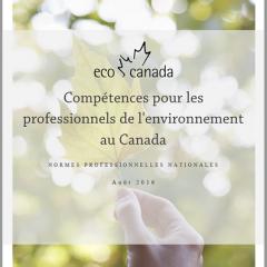 Competences pour les professionnels de l'environnement au Canada