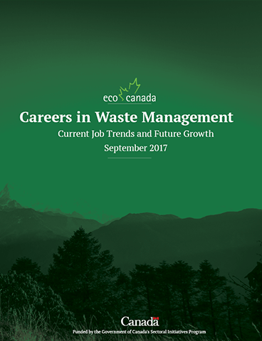 Careers in Waste Management - ECO Canada