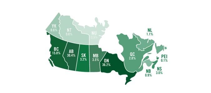 Small Canada Map EPs Canada map small | ECO Canada