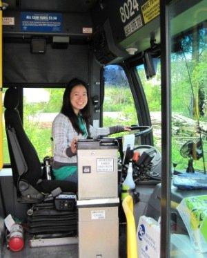 Emily Cho (EYC Intern & EPt) at job site