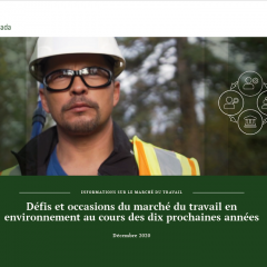 labour supply report eco canada french