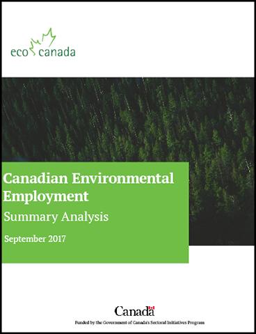 Canadian Environmental Employment Summary