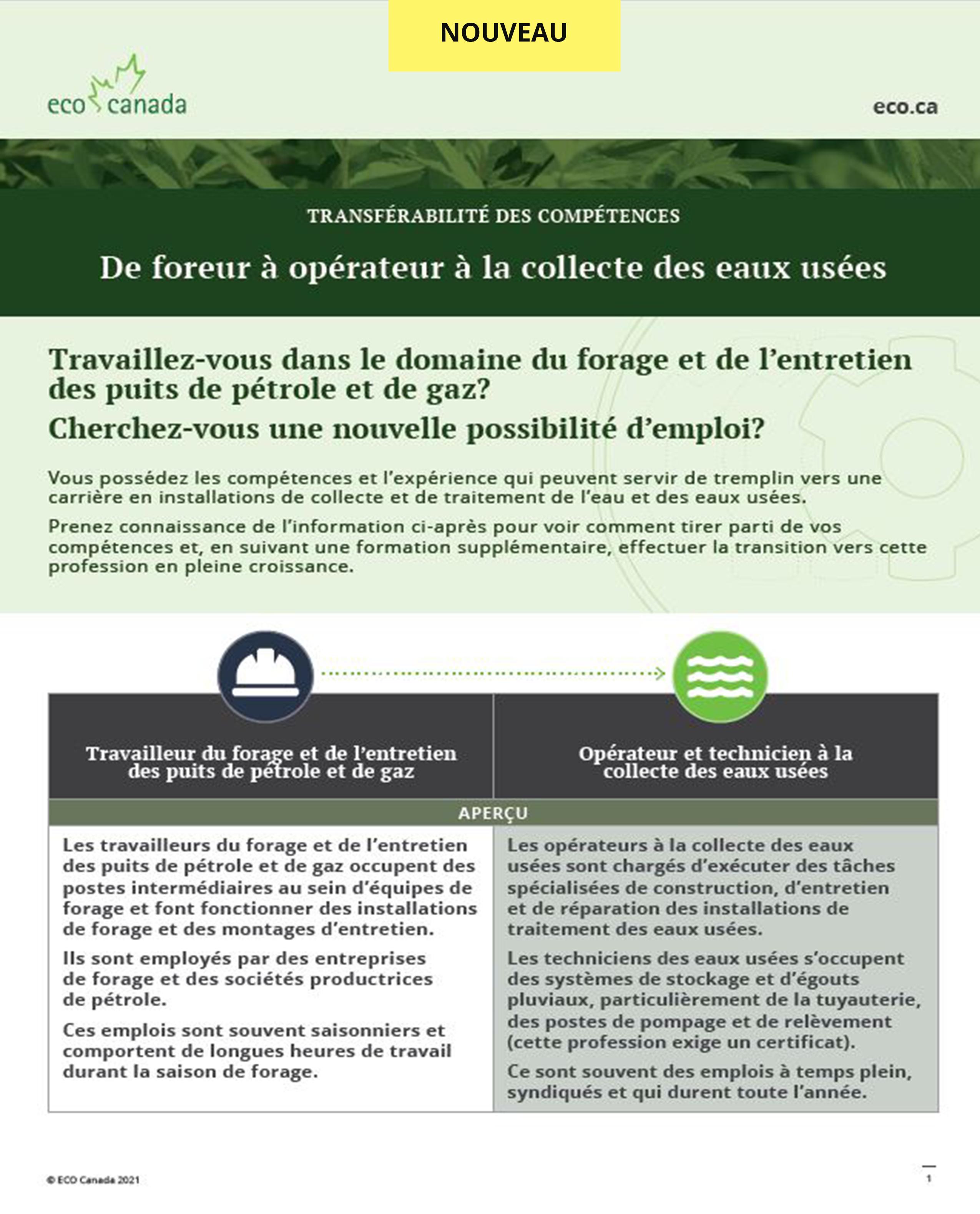 wastewater factsheet FR