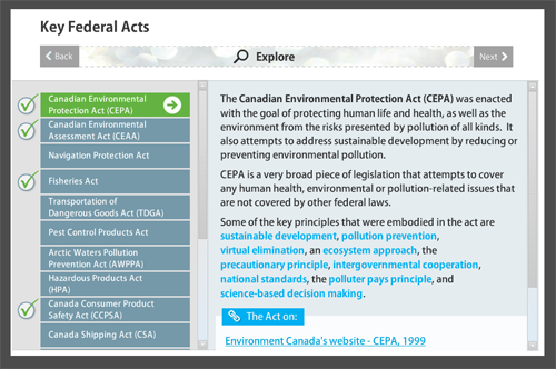 canadian environmental protection act cepa and the issues on pollution In response to a review of canada's primary law on pollution and toxics: the canadian environmental protection act, the federal suzuki foundation.